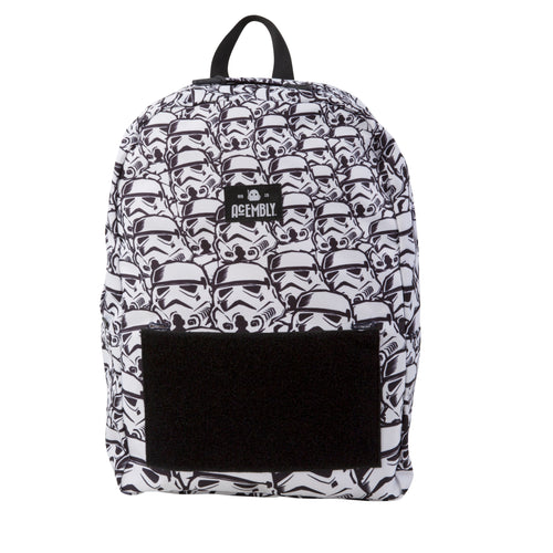 Acembly x Star Wars Storm Trooper Bag, front view