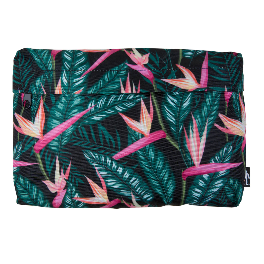 Acembly Birds of Paradise Pouch, front view