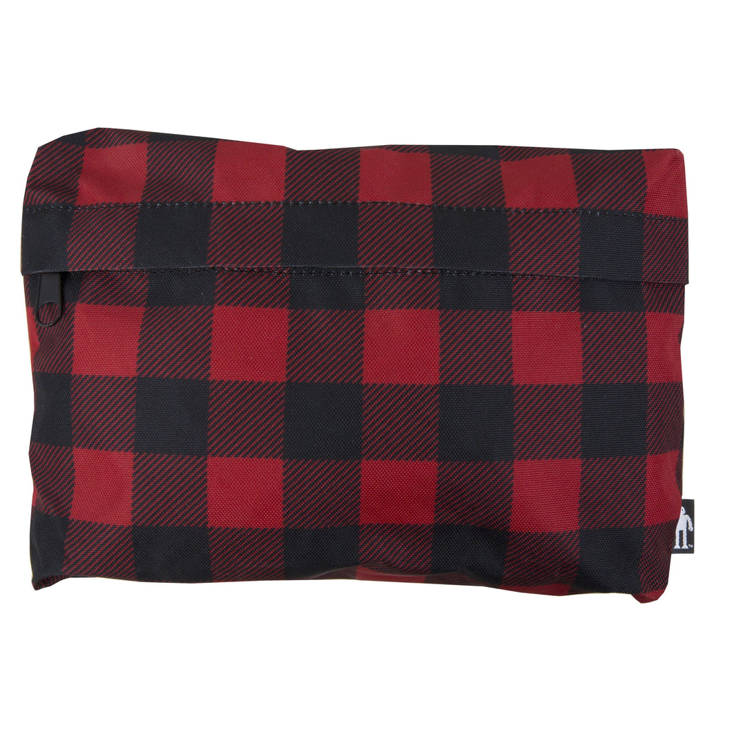 Acembly Buffalo Plaid Pouch, front view