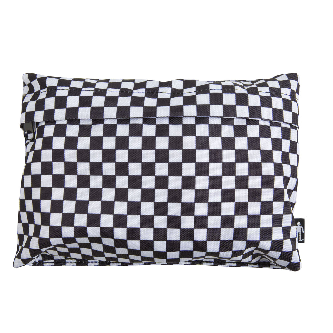 Acembly Checkered Pouch, front view