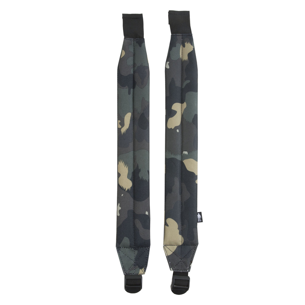 Acembly Camo Straps, front view