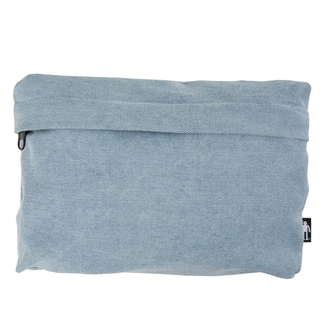 Acembly Light Denim Pouch, front view
