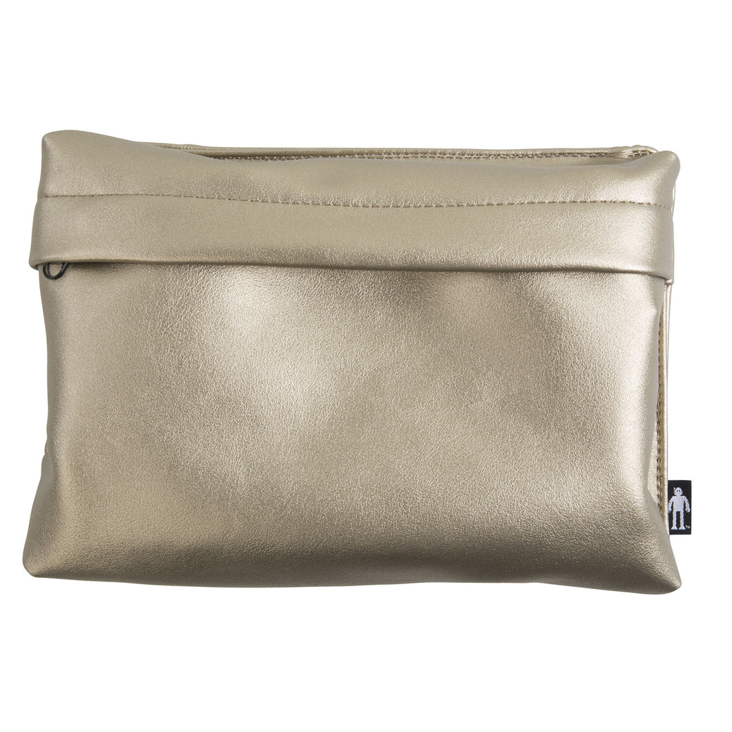 Metallic Gold Pouch