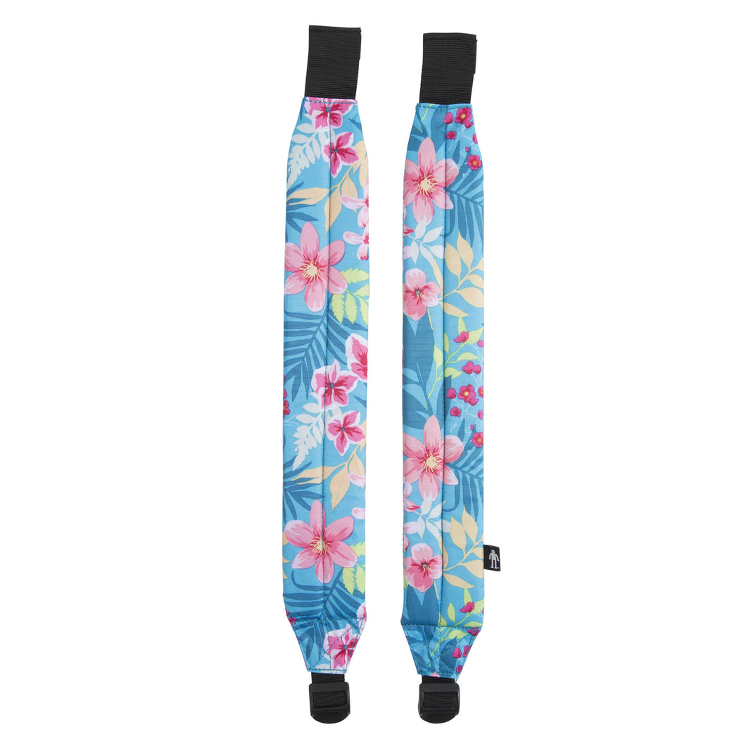 Acembly Tropical Floral Straps, front view