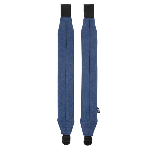 Acembly Medium Denim Straps, front view