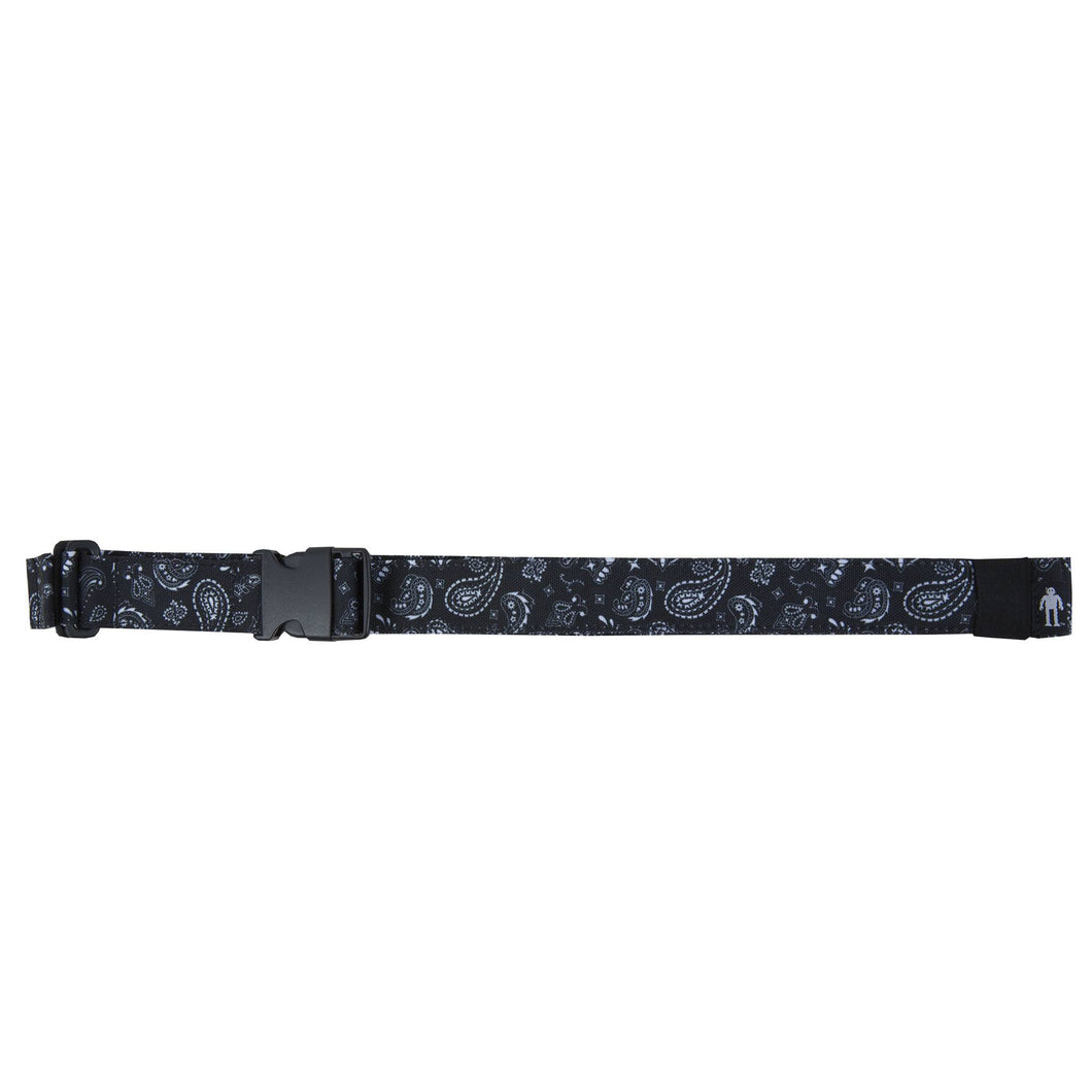 Acembly Black Bandana Waist Pack Belt, front view