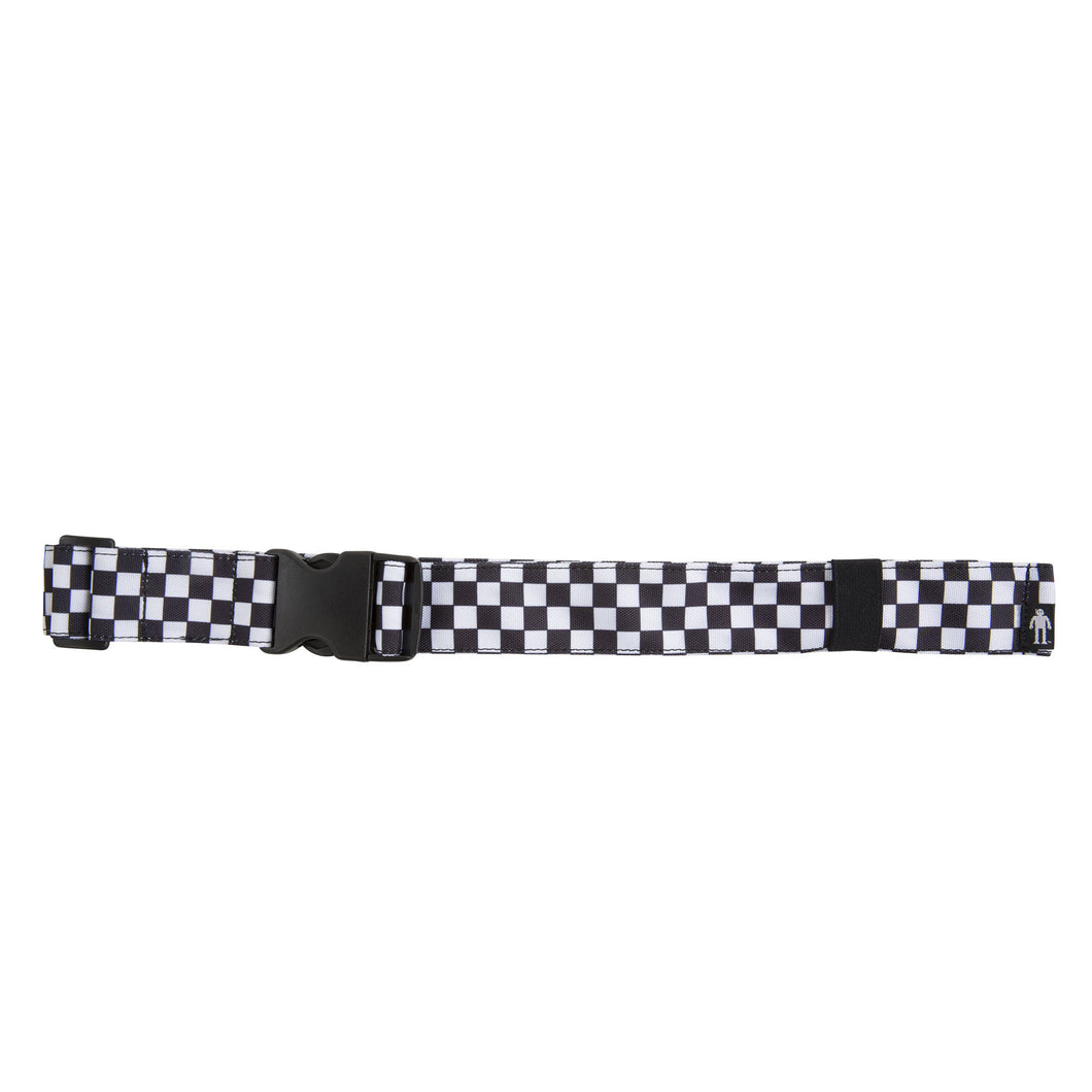 Acembly Checkered Waistpack Belt, front view