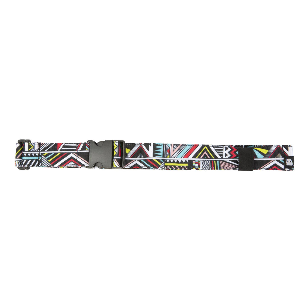 Acembly Global Stripe Waistpack Belt, front view