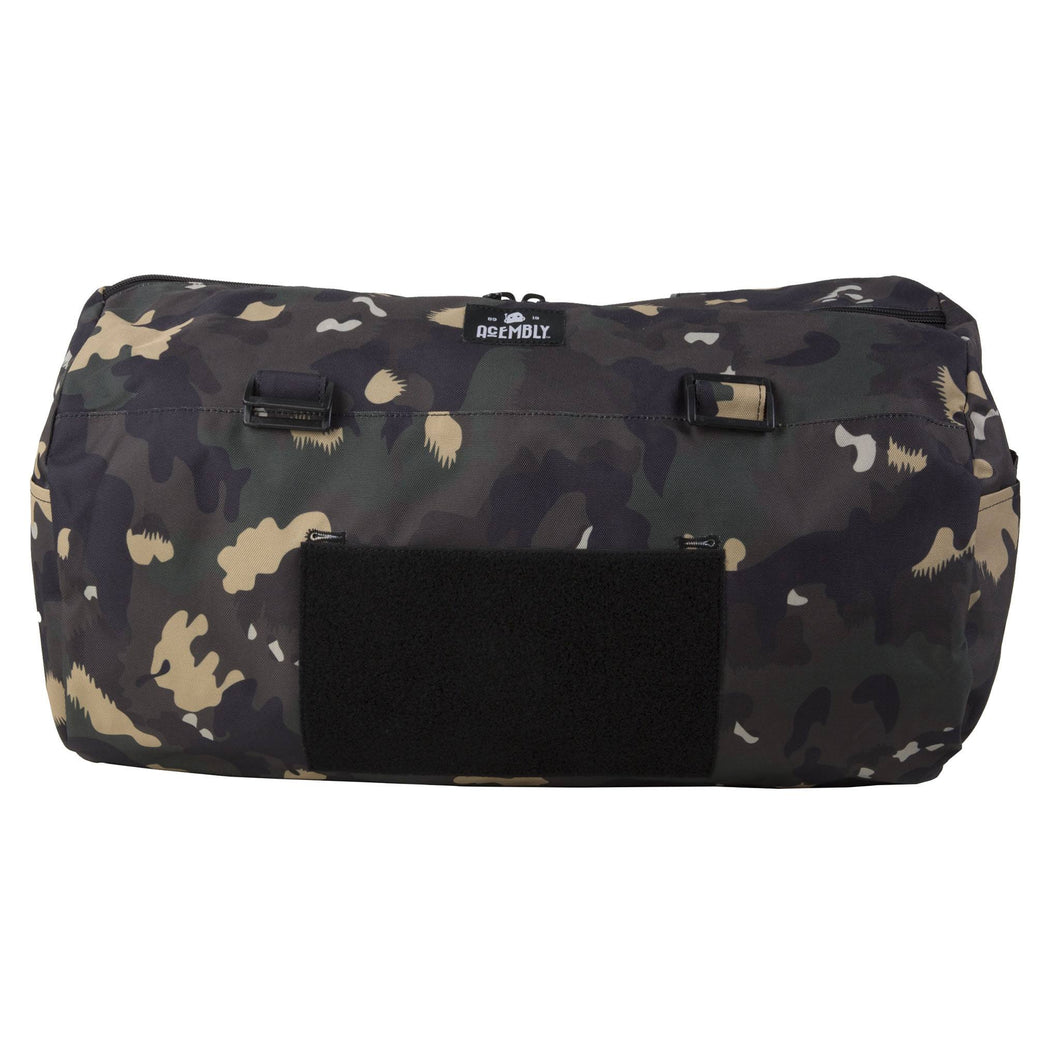 Acembly Camo Duffel Bag, front view