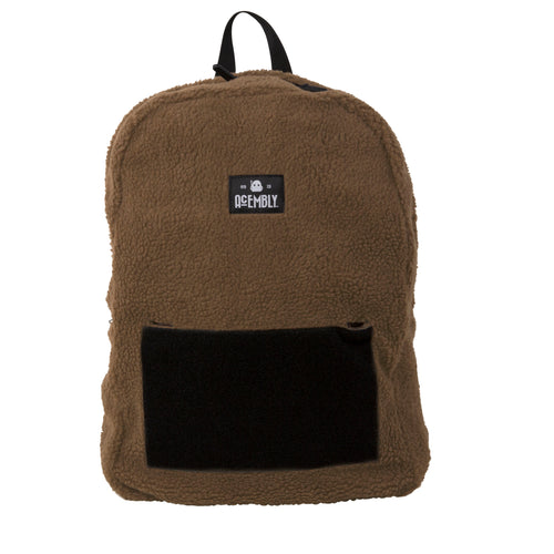 Acembly x Star Wars Brown Sherpa Bag, front view