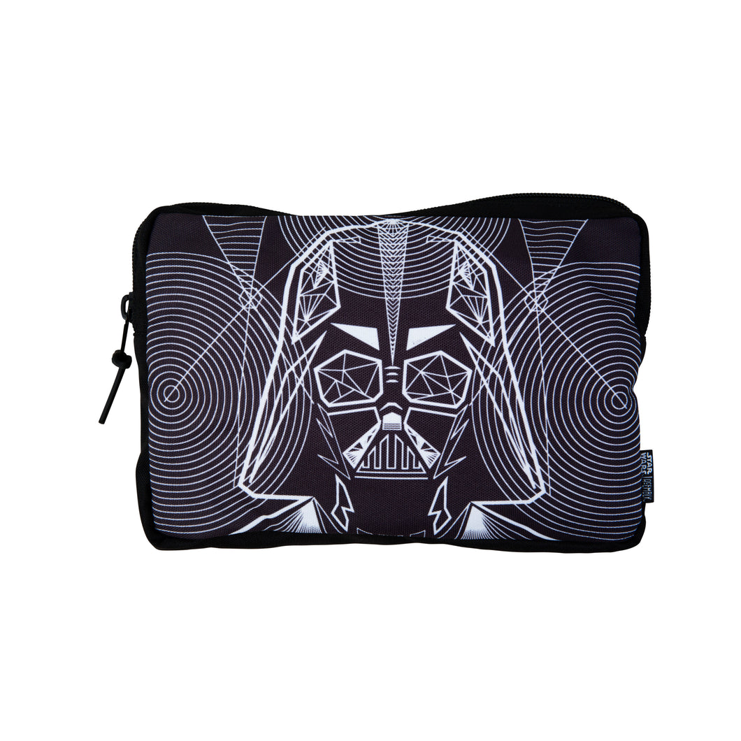 Acembly x Star Wars Darth Vader Line Art Backpack Pouch, front view