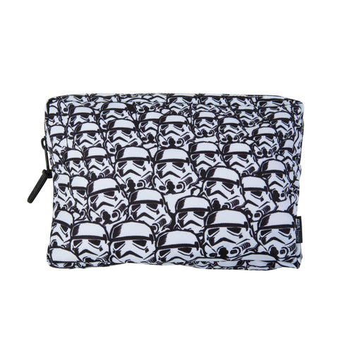 Acembly x Star Wars Storm Trooper Backpack Pouch, front view
