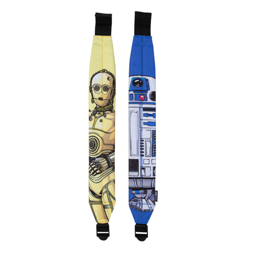 Acembly x Star Wars Droid Cartoon Backpack Straps, front view