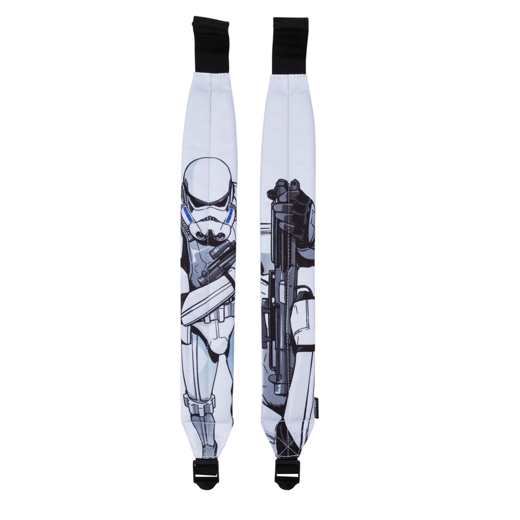 Acembly x Star Wars Storm Trooper Cartoon Backpack Straps, front view