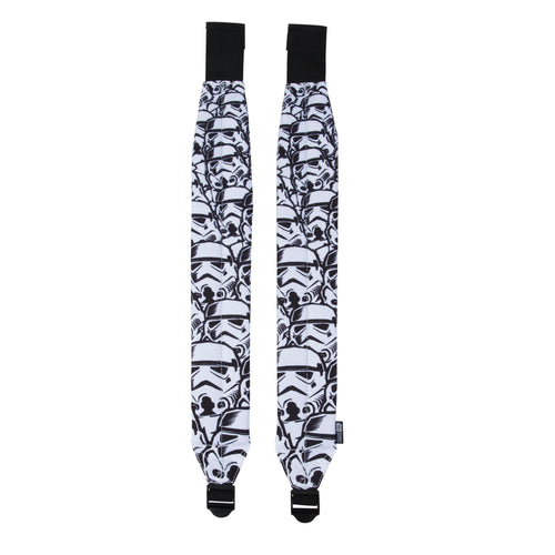 Acembly x Star Wars Storm Trooper Backpack Straps, front view