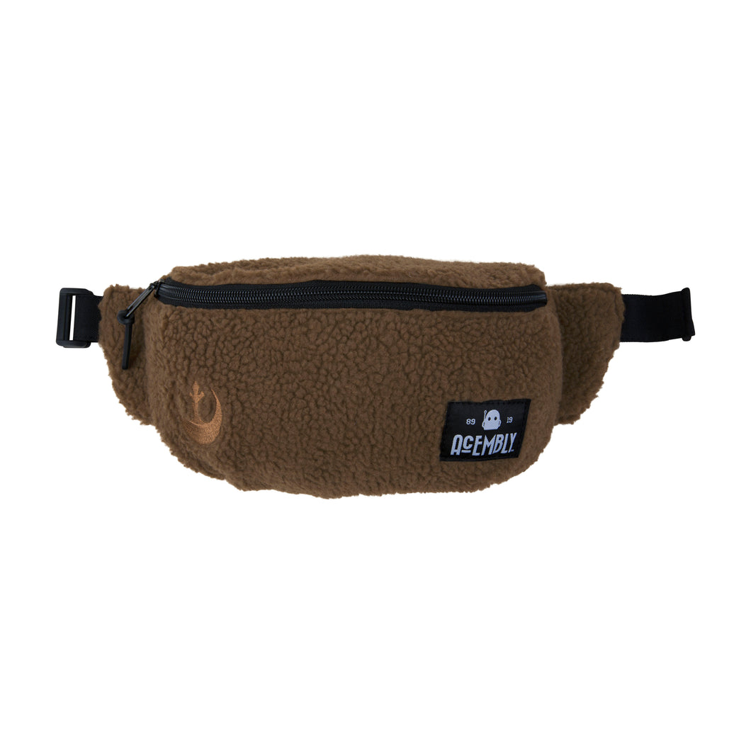 Acembly x Star Wars Brown Sherpa Waist Pack, front view