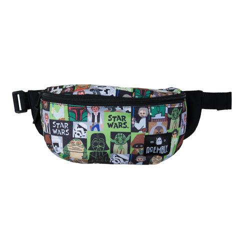 Acembly x Star Wars Paper Cut Art Waist Pack, front view