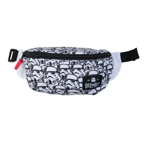 Acembly x Star Wars Storm Trooper Waist Pack, front view