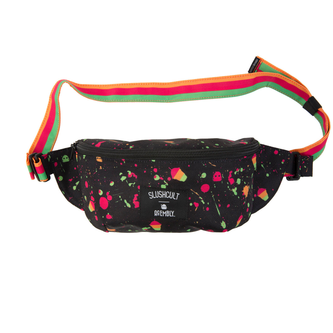 Acembly X SlushCult Waist Pack Splatter/Stripe