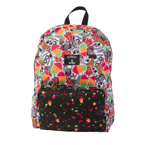 Acembly x SlushCult Backpack Collage/Splatter/Cups