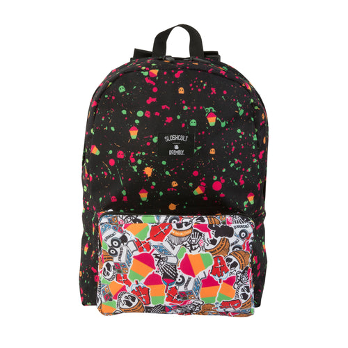 Acembly x SlushCult Backpack Splatter/Collage/Stipe