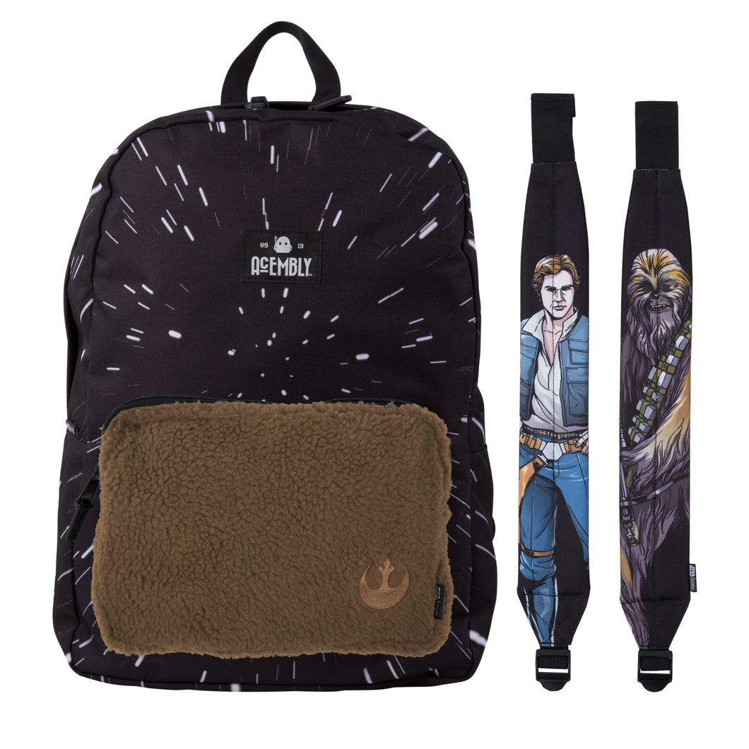 Acembly x Star Wars Modular Backpack Hyperspace/Sherpa, front view