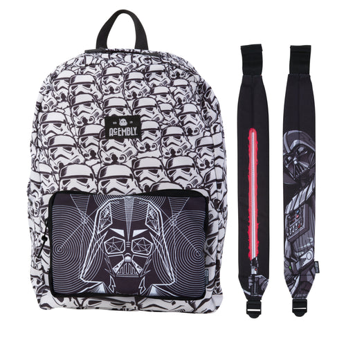 Acembly x Star Wars Modular Backpack Storm Tropper/Darth Vader, front view