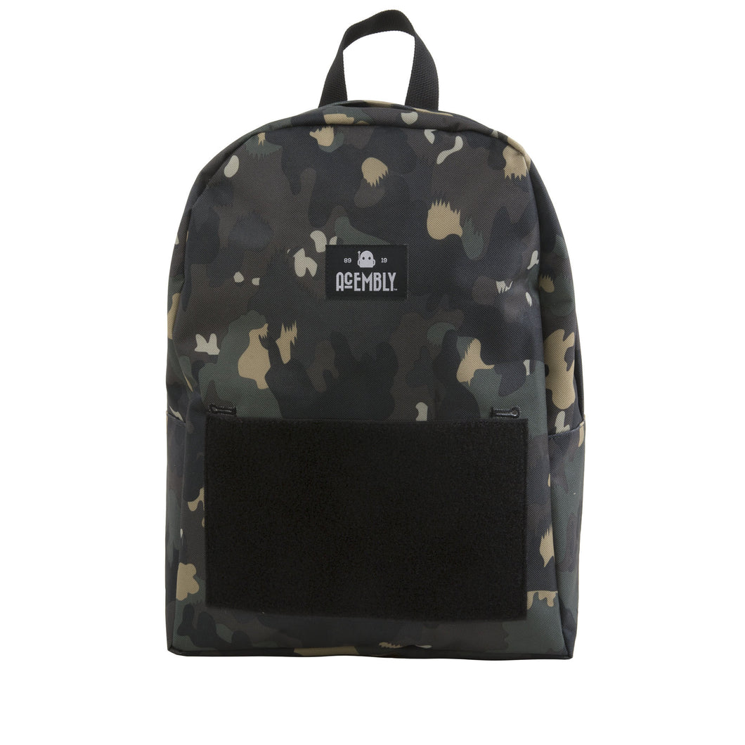 Acembly Camo Bag, front view
