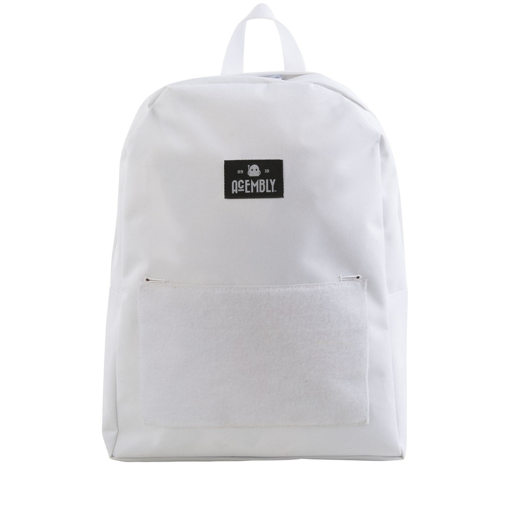 Acembly White Bag, front view