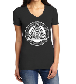 Enlightenment V Neck Tee