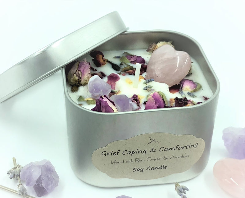 Grief Coping and Comfort Candles