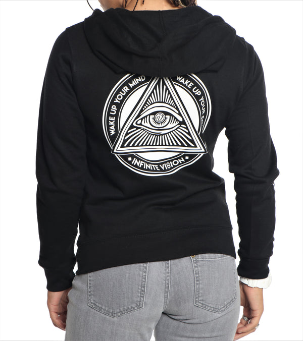 Vision Enlightenment Zip-Up