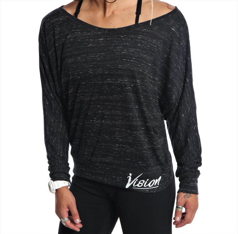 Heathered Vision Long Sleeve