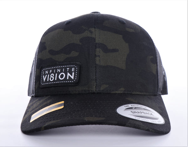 Infinite Vision Army Trucker Hat