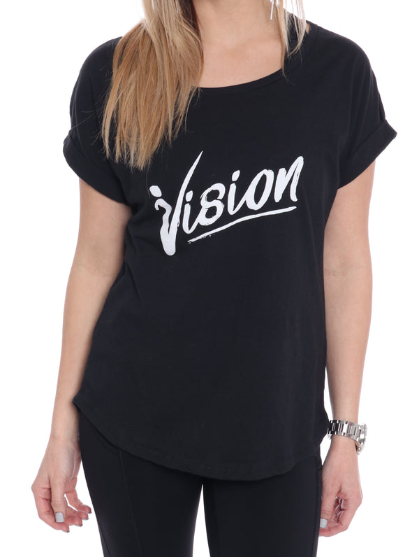 Vision Rolled Tee