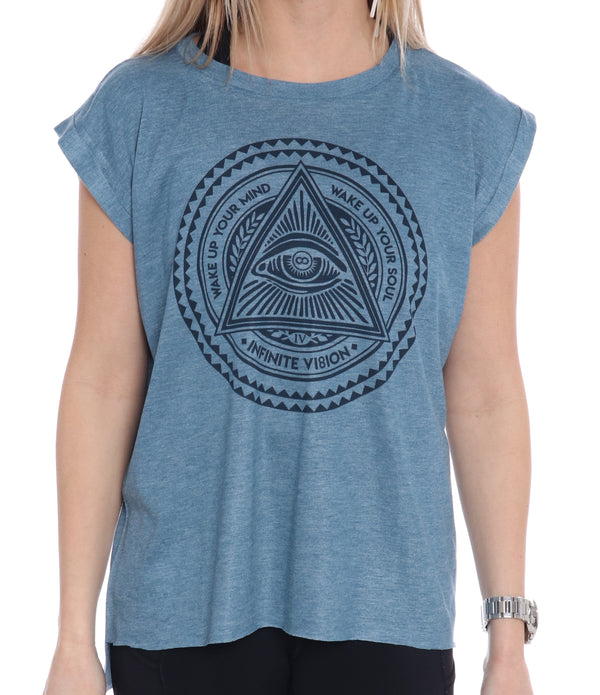 Enlightenment Rolled Tee