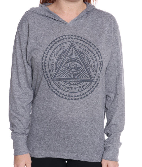 Enlightenment Long Sleeve Hoodie