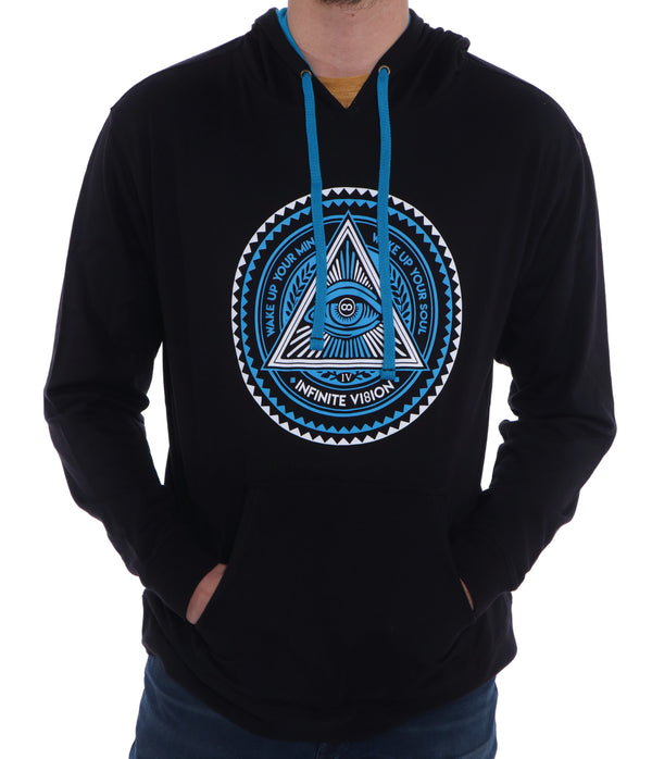 Blue Original Enlightenment Hoodie