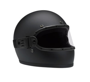 FLAT BLACK // KNOX HELMET SET