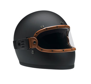 FLAT TAN BLACK // KNOX HELMET SET