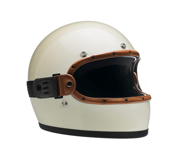 VINTAGE TAN BLACK // KNOX HELMET SET