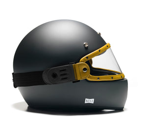 LEO MASKA // YELLOW VISOR - BLACK STRAP