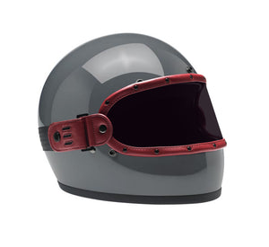 STORM BURGUNDY  // KNOX HELMET SET
