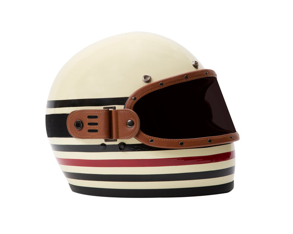 THE LINEA CUSTOM HELMET // TAN