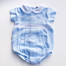 Babidu Blue Cotton Baby Shortie