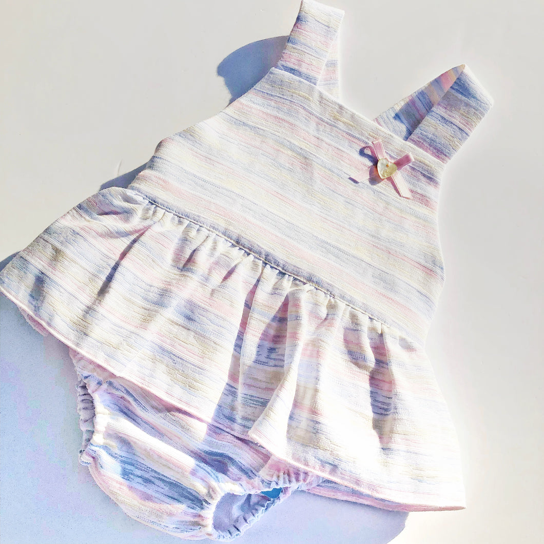 Granlei Girls Pastel Stripe Shortie