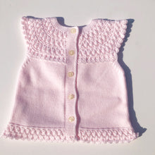 Granlei Baby Girls Pink Knitted Outfit
