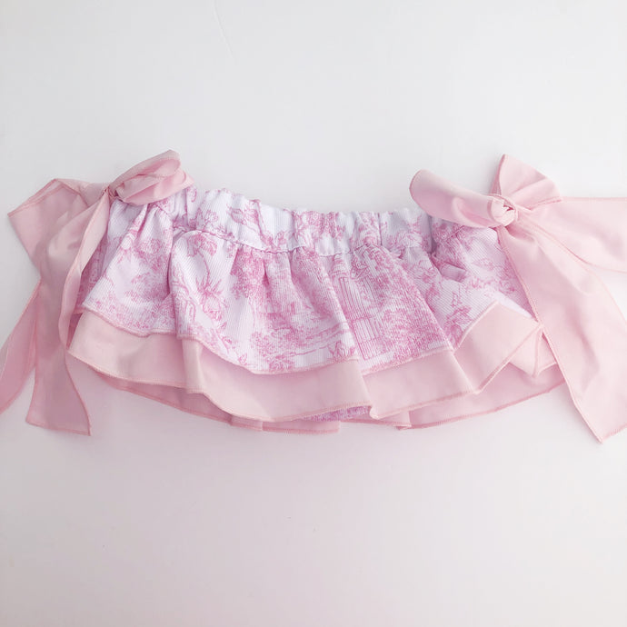 Phi Clothing Girls Pink Skort