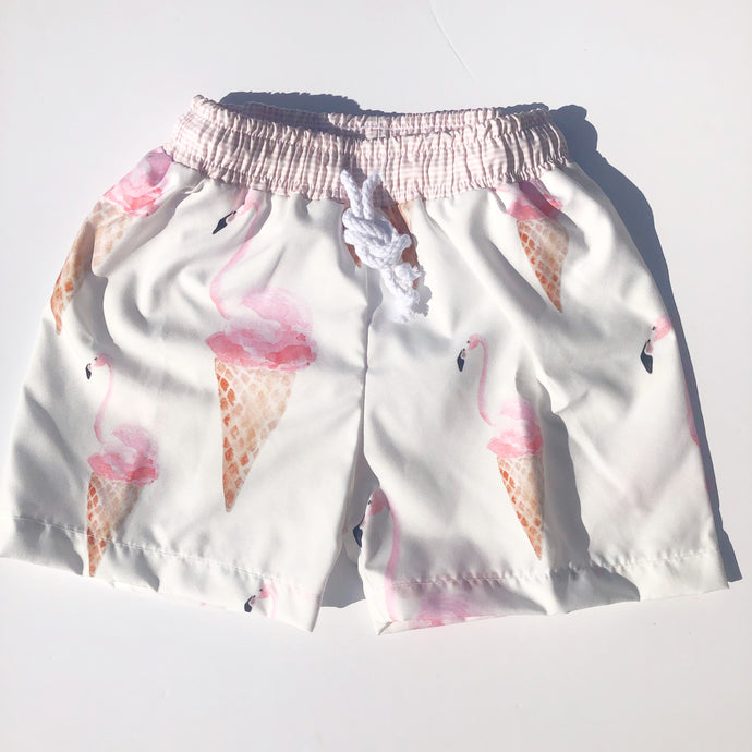 Meia Pata Boys Flamingo Swimshorts