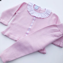 Granlei Pink Knitted Tracksuit